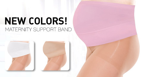 NEW COLORS! MATERNITY SUPPORT BAND